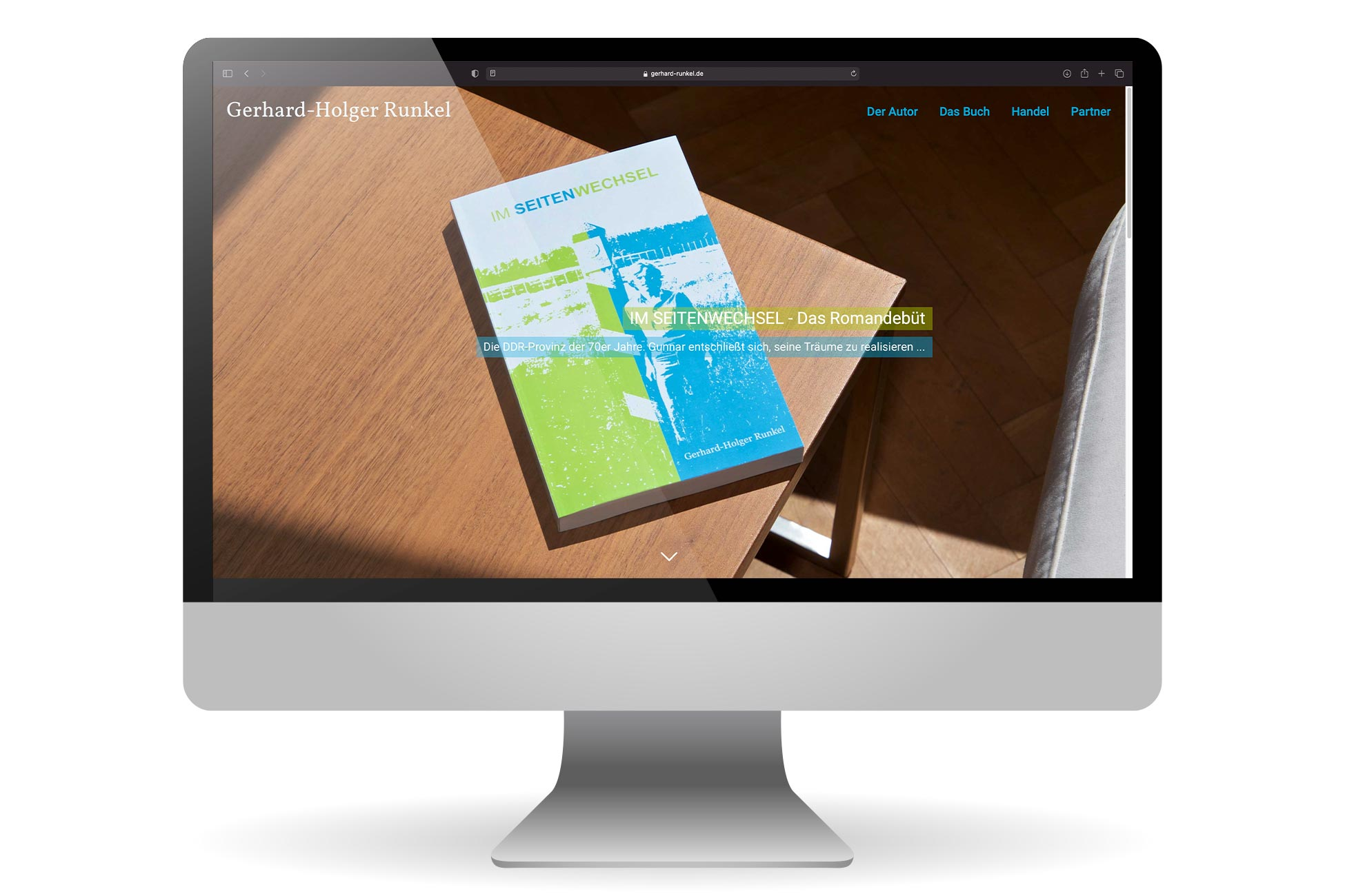 Gerhard-Holger Runkel Autorenwebsite