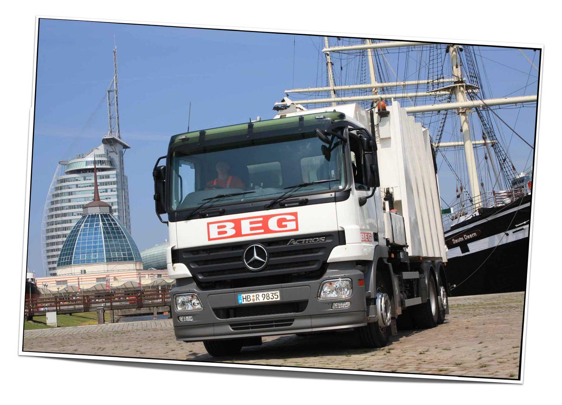 Fotoshooting für die Bremerhavener Entsorgungsgesellschaft mbH