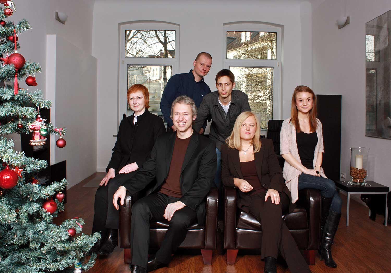 Agenturteam Weihnachten 2009
