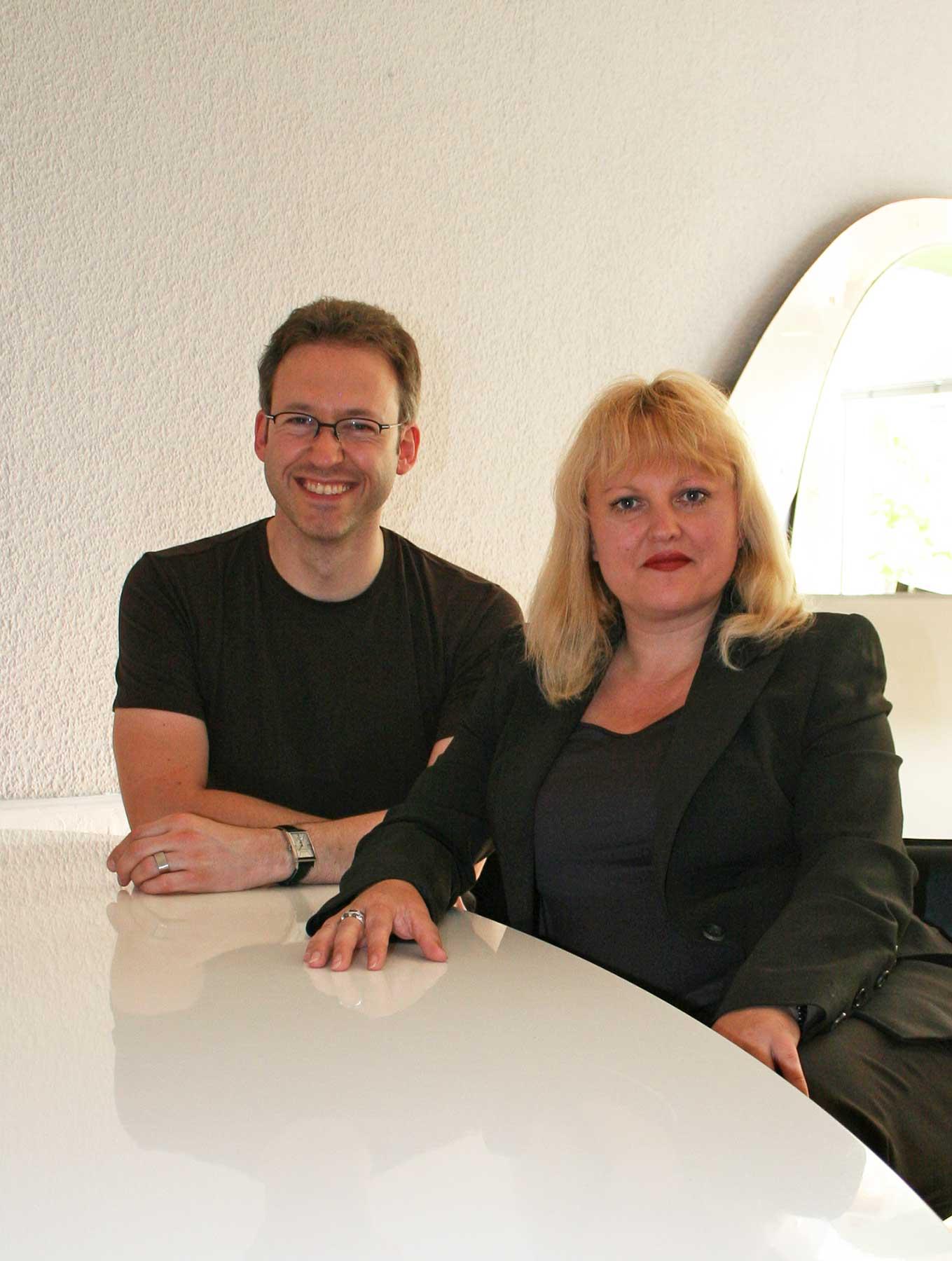 Michael Brüggemann und Kirsten Broska-Rogge 2006