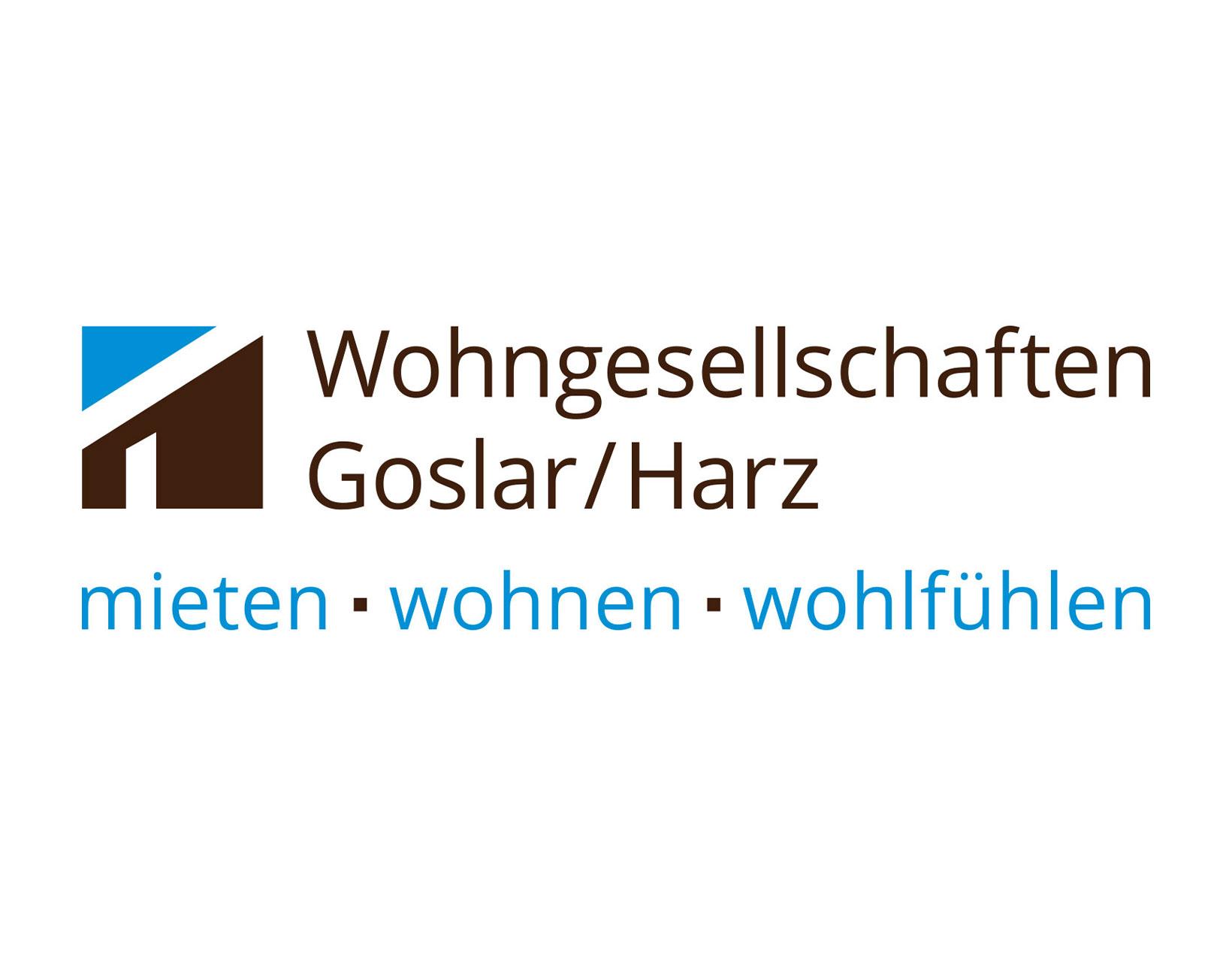 Logo und Corporate Design Wohngesellschaften Goslar/Harz