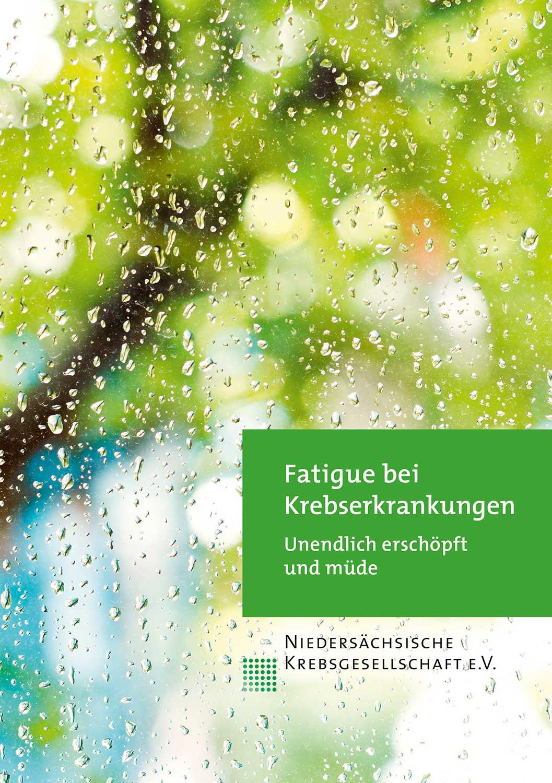 """Broschüre """"Fatigue bei Krebserkrankungen"""" der Niedersächsischen Krebsgesellschaft"""