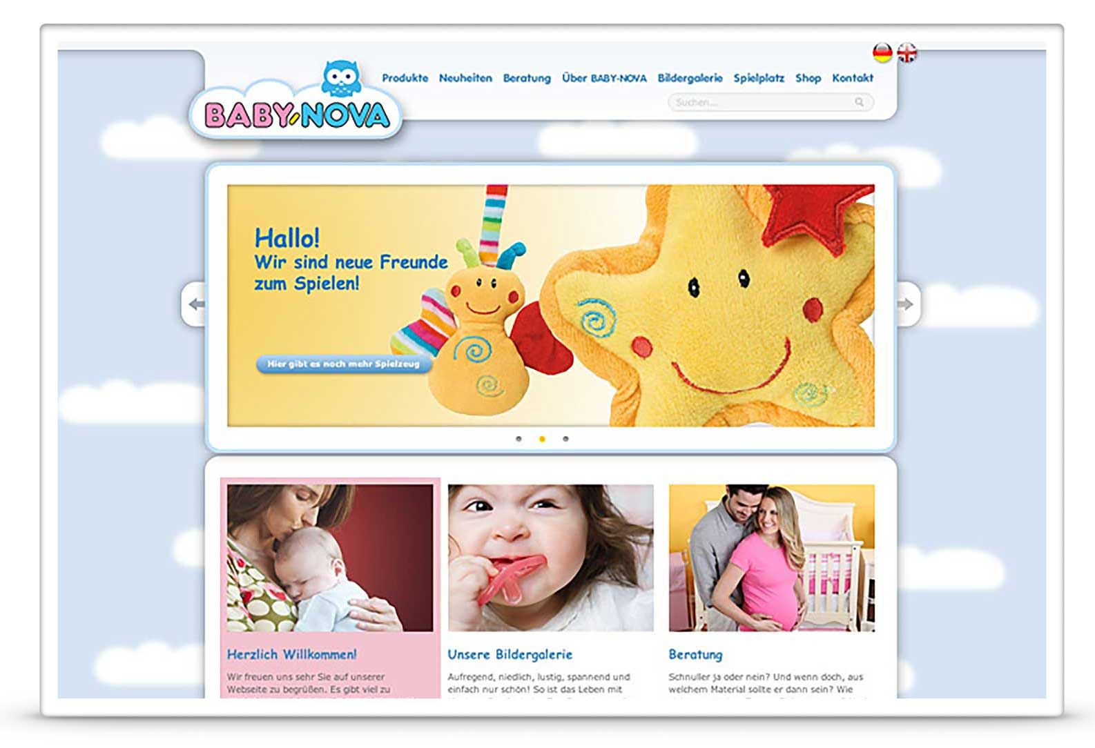 BABY-NOVA Website